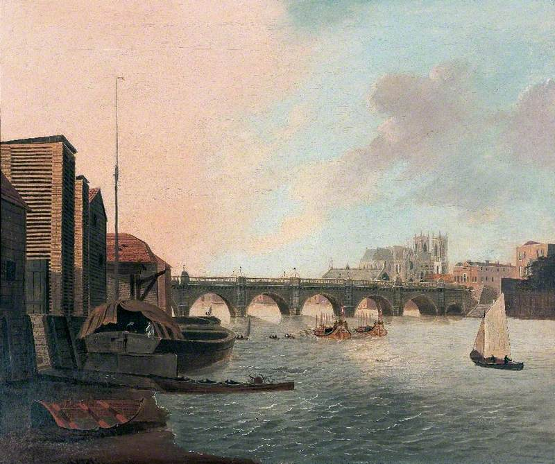 Westminster Bridge and Abbey, London