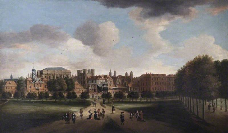 Whitehall and St James's Park, London
