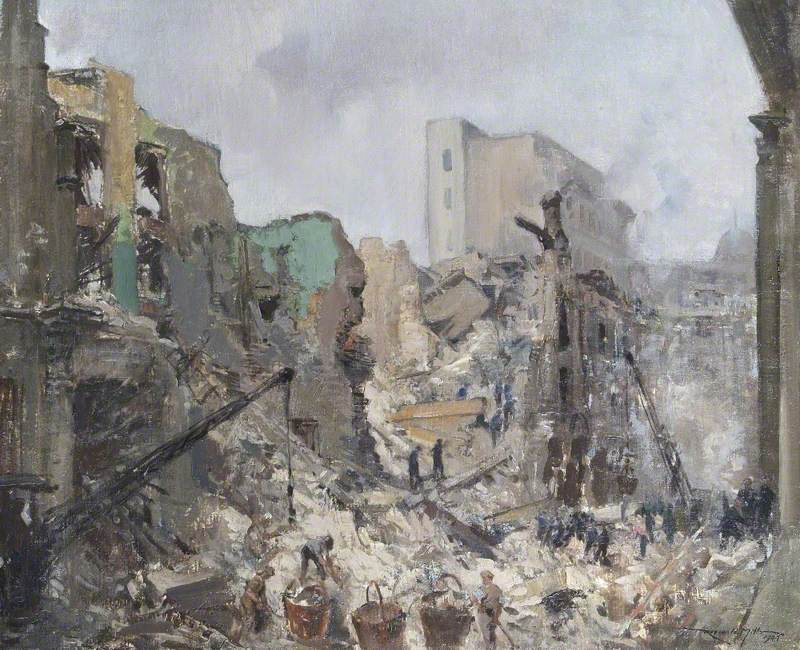 The Bank of England after Bombing