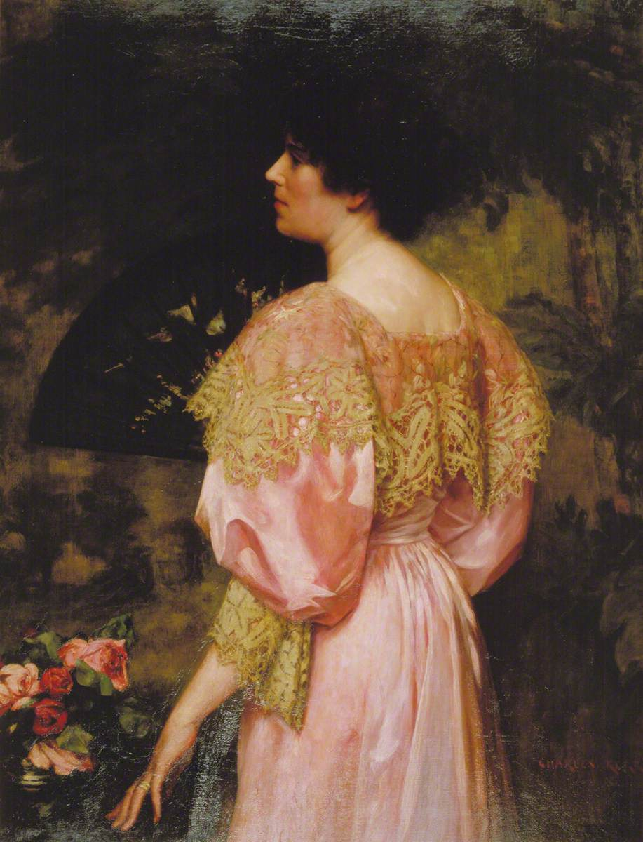 The Rose-Coloured Gown (Miss Giles)