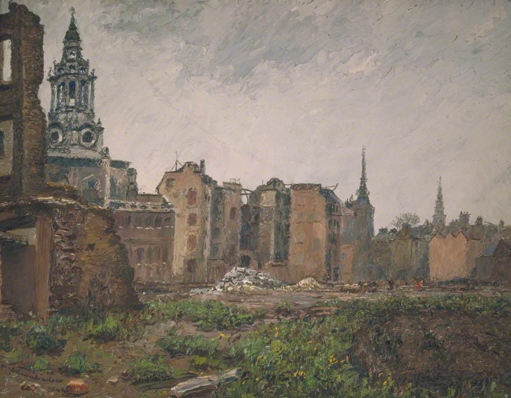 A Bomb Site near St Paul's, London