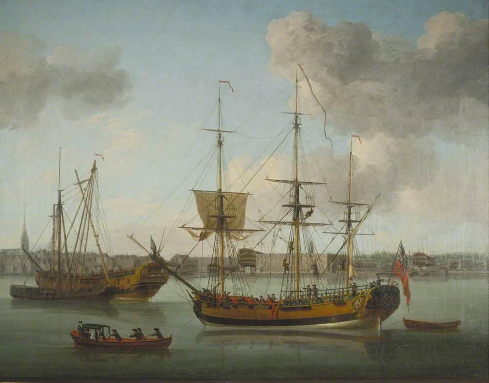 The Naval Dockyard, Deptford, London