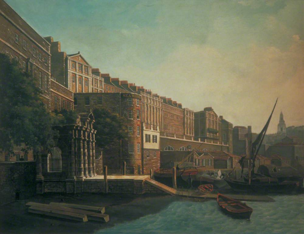 Adelphi Terrace and York Watergate, London