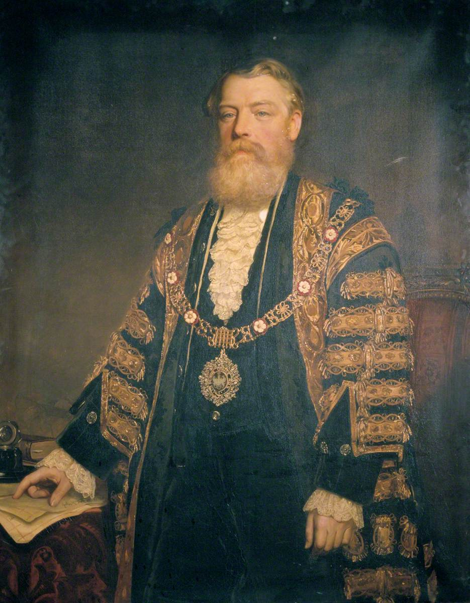 Sir Henry Edmund Knight, Lord Mayor of London (1882)