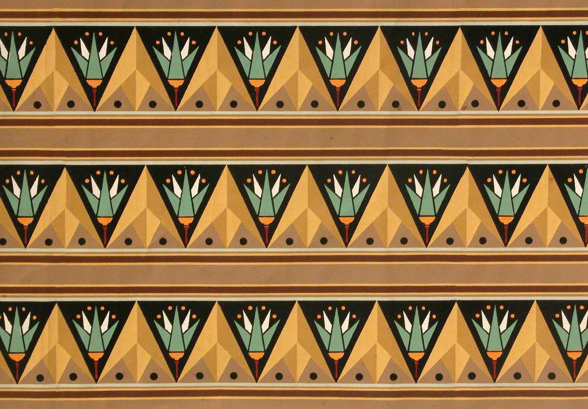 Egyptian Wallpaper Scroll