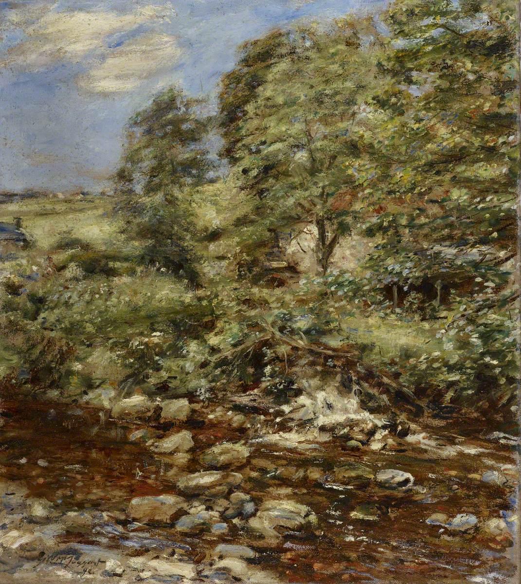 Spring, Carrington Mill