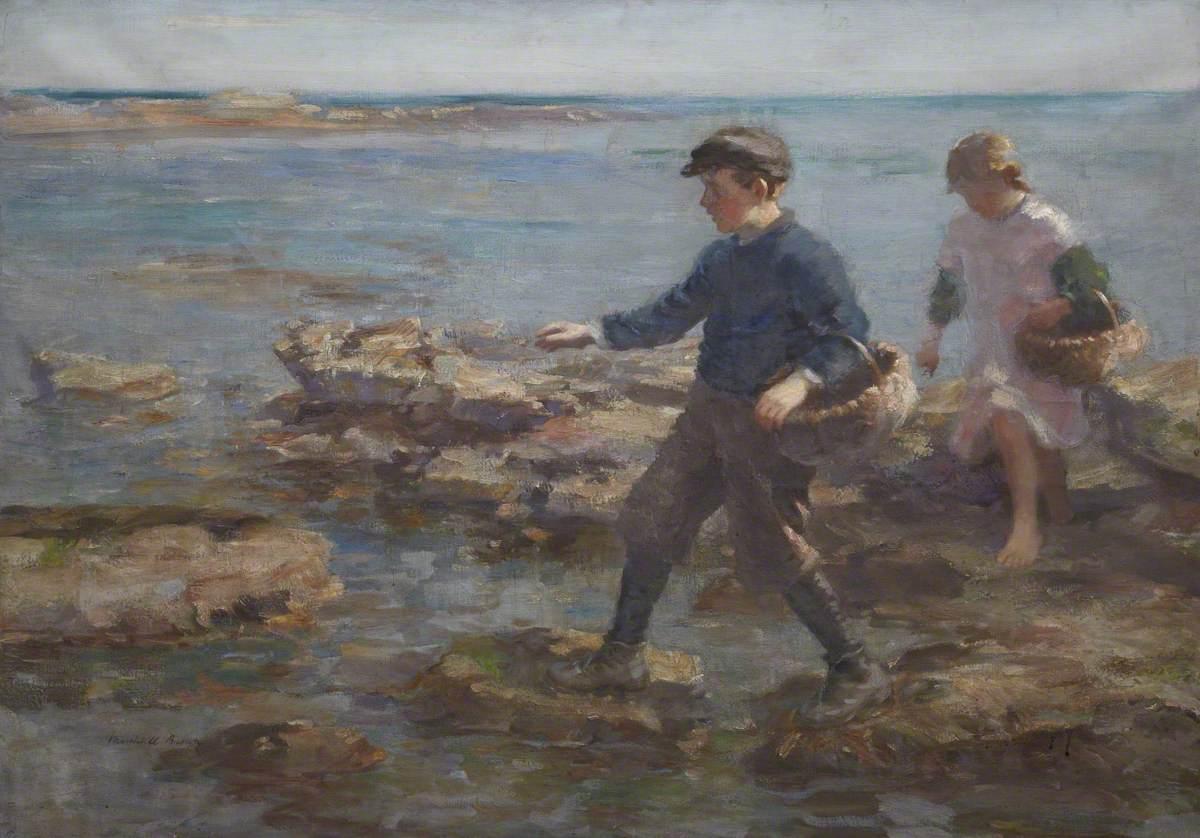 Children on the Shore