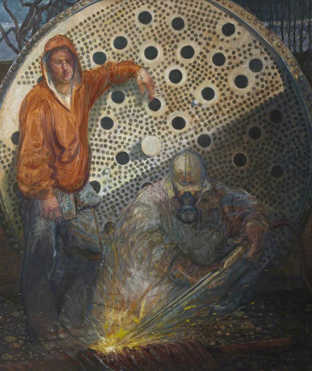 Alcan Triptych: Dawn