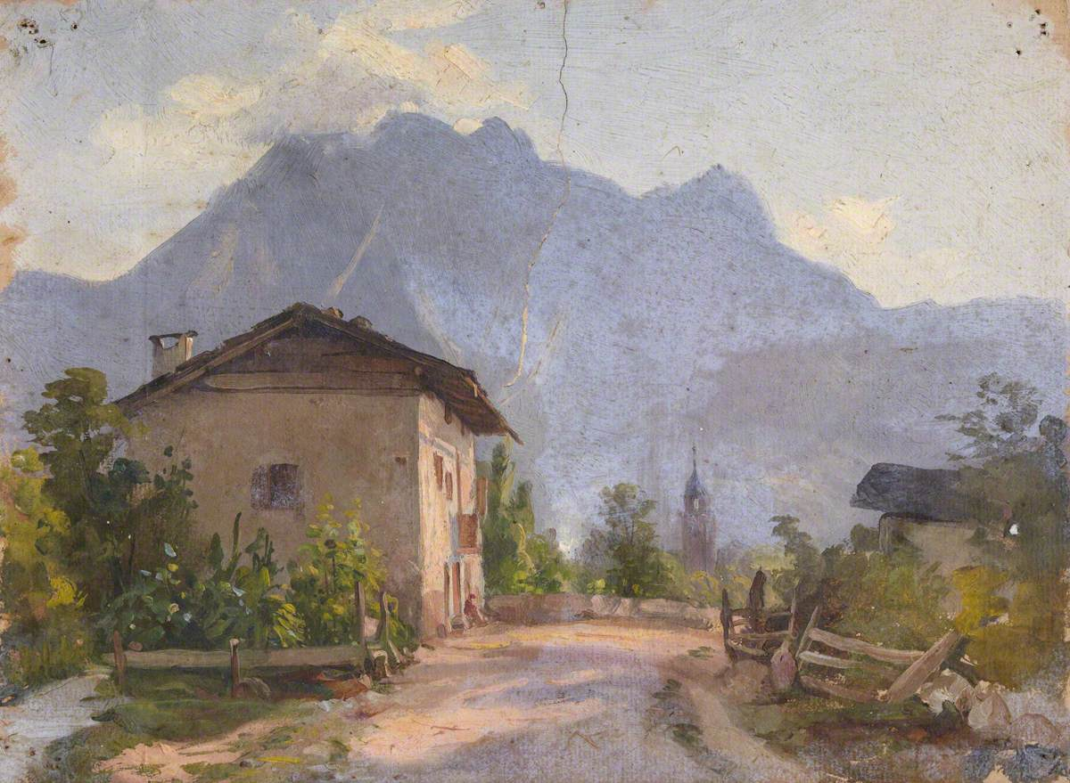 House with a View of Mountains