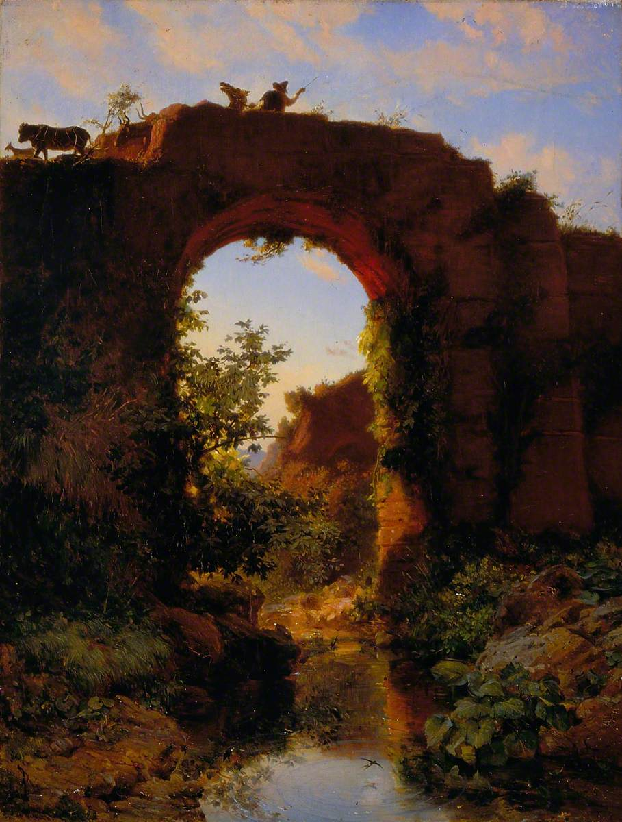 Roman Footbridge