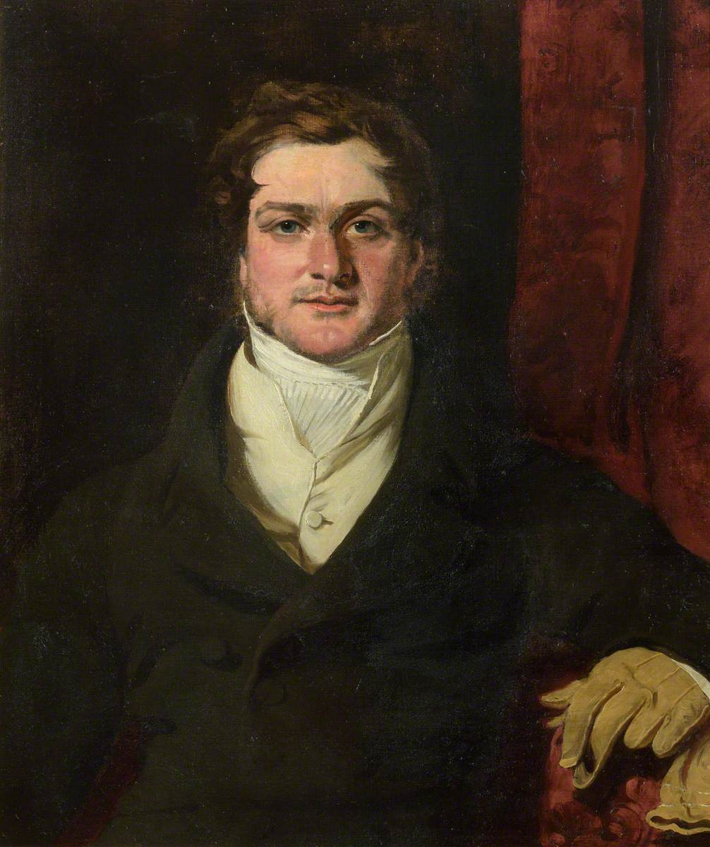 Portrait of a Gentleman Holding a Glove in His Left Hand