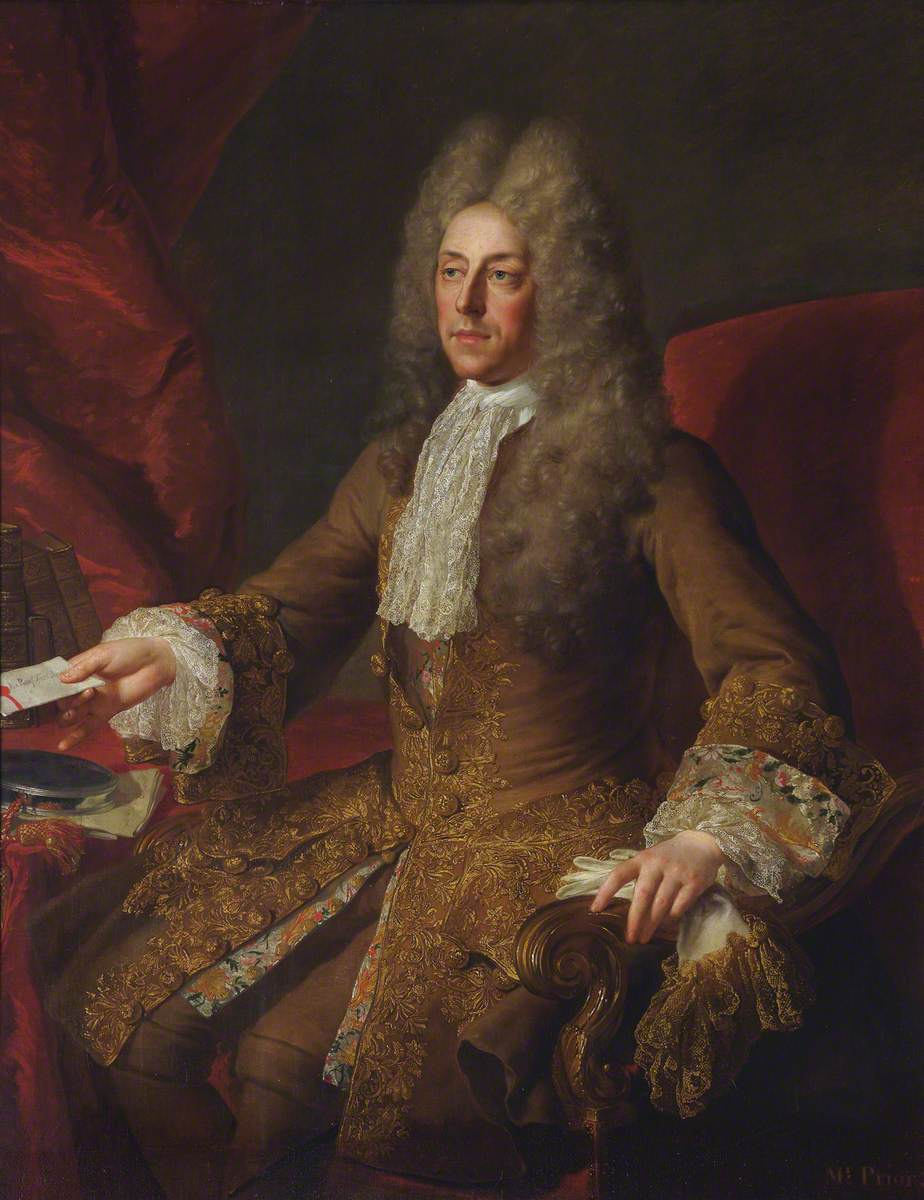 Matthew Prior (1664–1721), Fellow, Ambassador to France