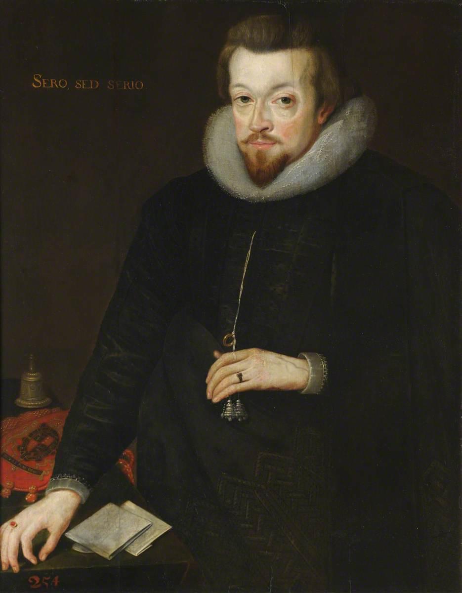 Robert Cecil (1563–1612), Earl of Salisbury, Alumnus of St John's College, Principal Secretary to Elizabeth I and James I, Knight of the Garter