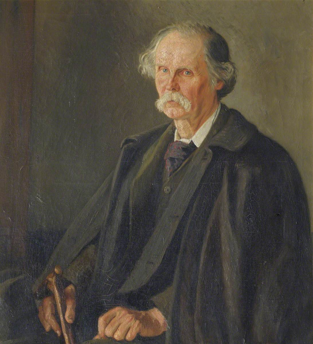 Professor Alfred Marshall (1842–1924), Lecturer in Political Economy and  Fellow | Art UK
