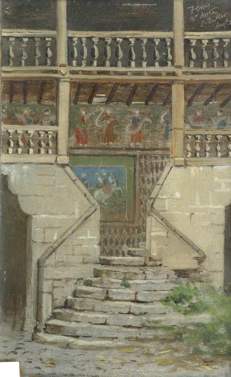 Château Fénis, Aosta
