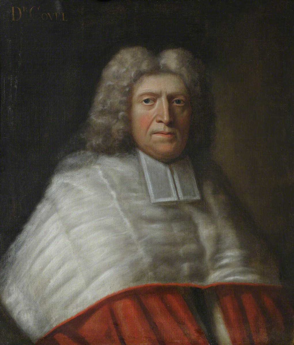 John Covel (1638–1722), Master (1688–1722), Amateur Botanist, Architect and Collector, Vice-Chancellor of the University