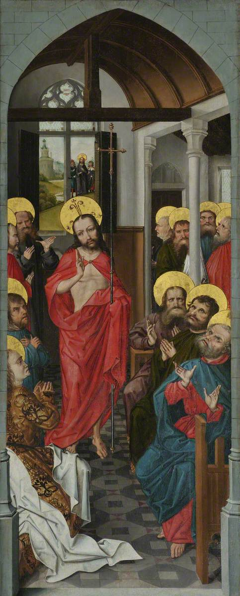 Christ Appearing to the Apostles, with the Pilgrims at Emmaus