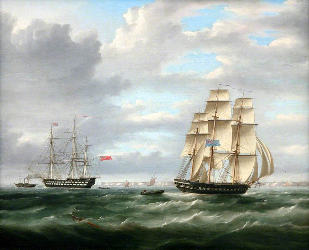 Two Warships