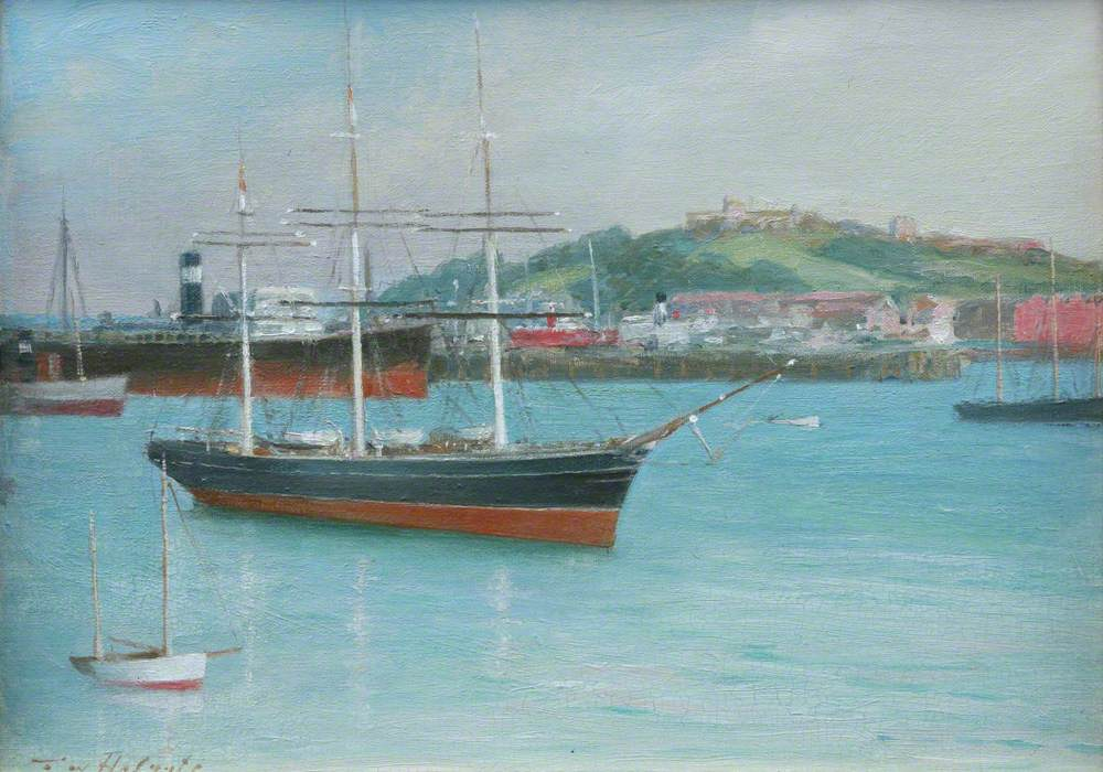'Cutty Sark' in Falmouth Harbour
