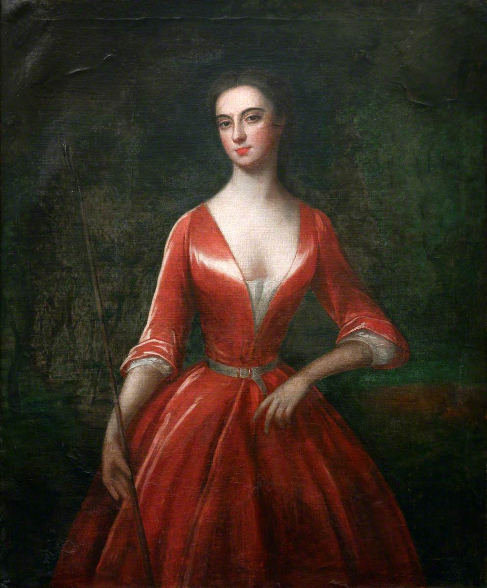 A Lady in a Red Dress