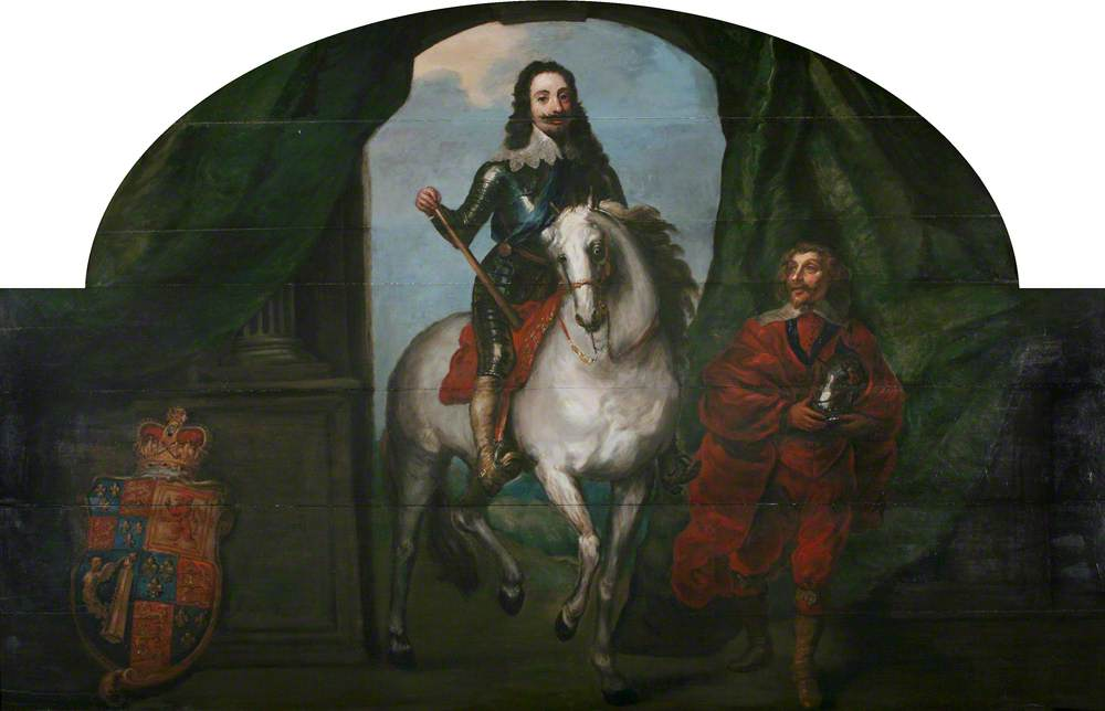 King Charles I (1600–1649) and His Equerry M. de St Antoine, Chevalier d'Epergnon