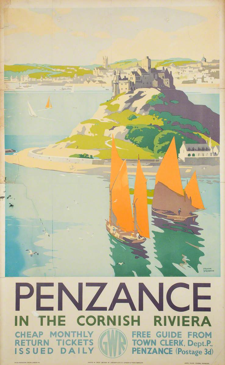 Penzance – In the Cornish Riviera