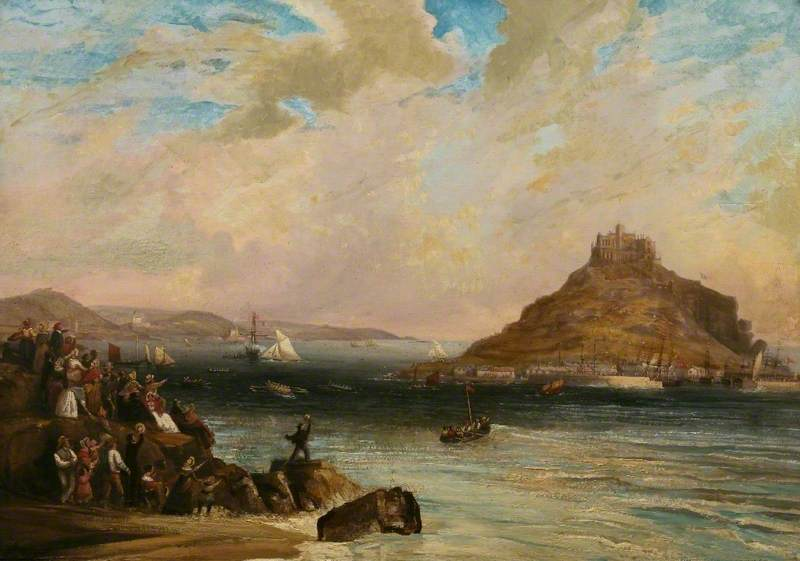 Regatta at St Michael's Mount