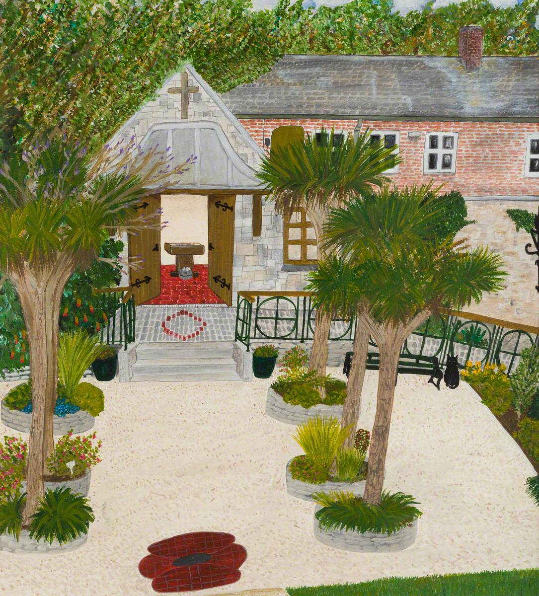 Garden of Remembrance, Penlee House Gallery and Museum