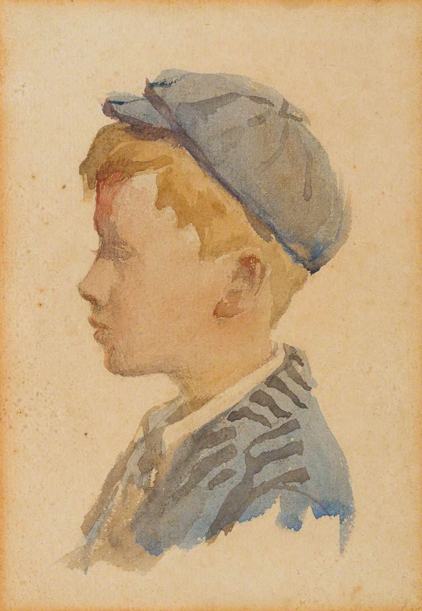 Head and Shoulder Portrait of the Artist's Son, Alec