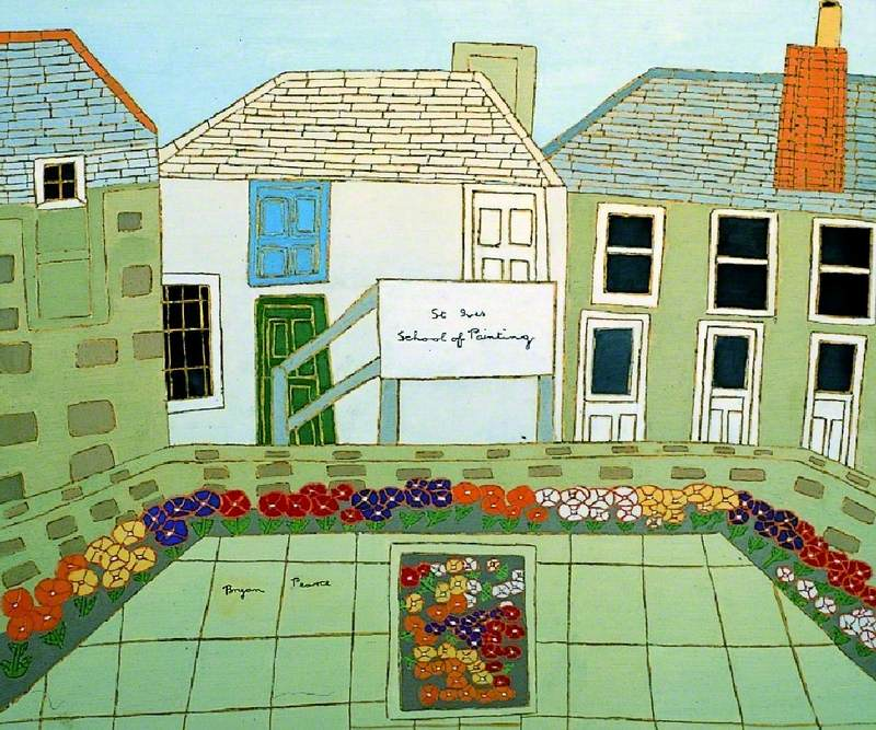 The Gardens, Norway Square (St Ives School of Painting)