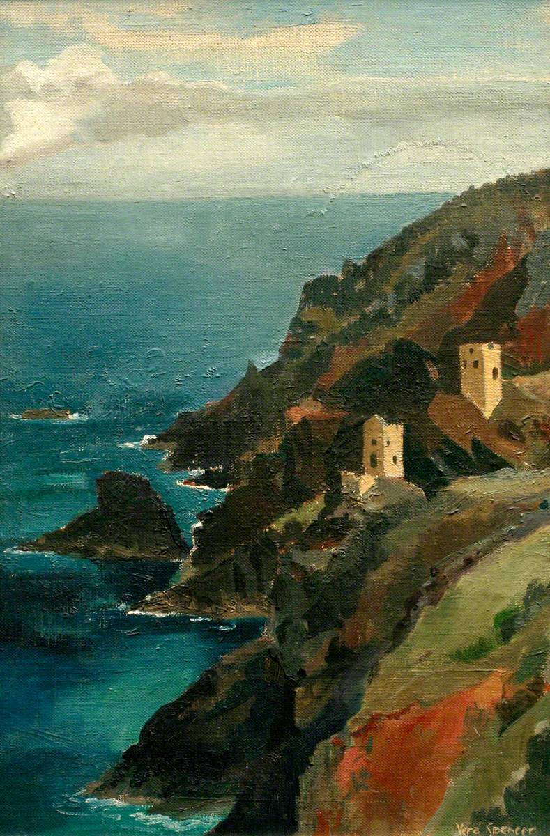 Shadows and Reflections (Botallack Mine)