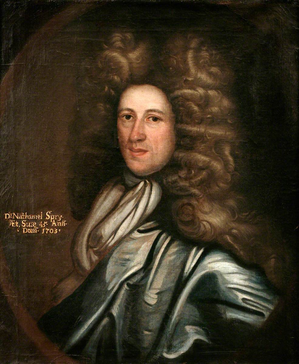 Dr Nathaniel Spry, Aged 45