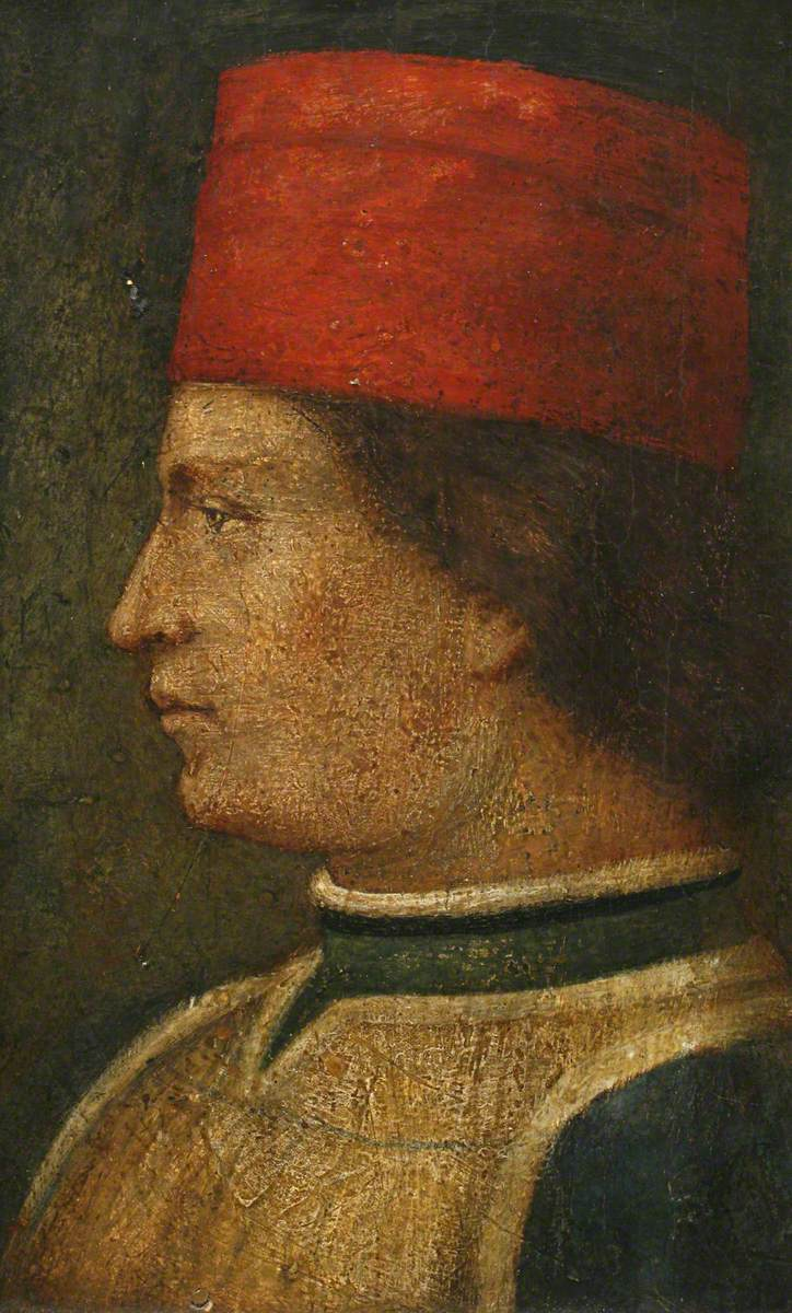 Portrait of a Man in a Red Hat