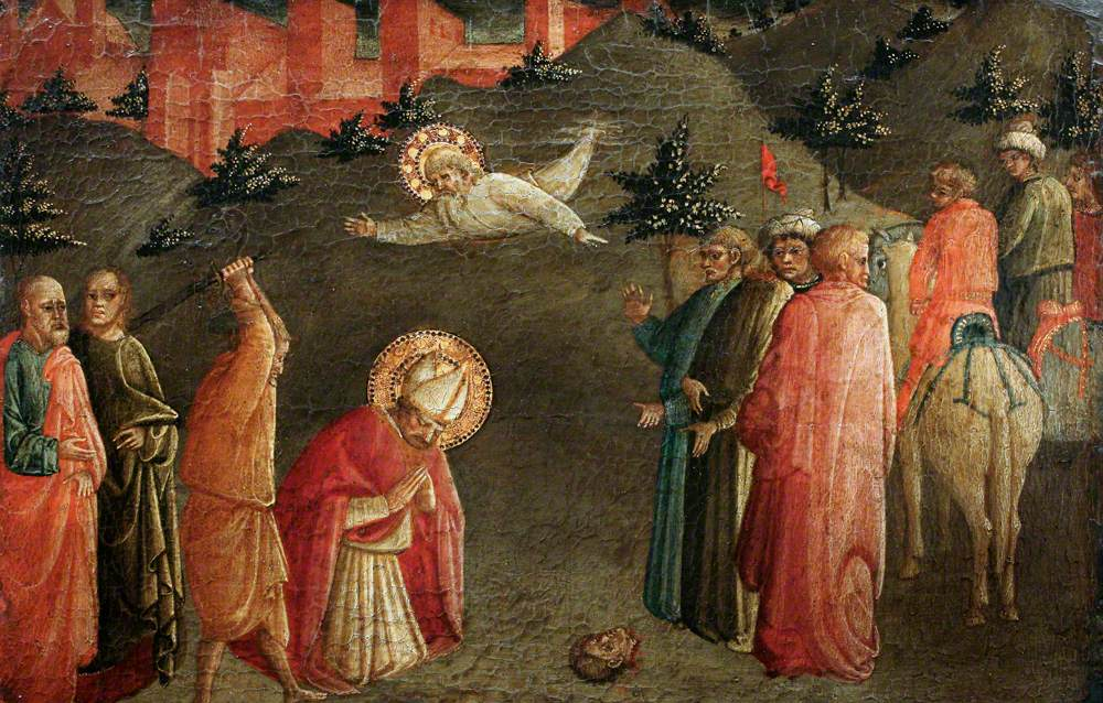 The Martyrdom of St Dionysius