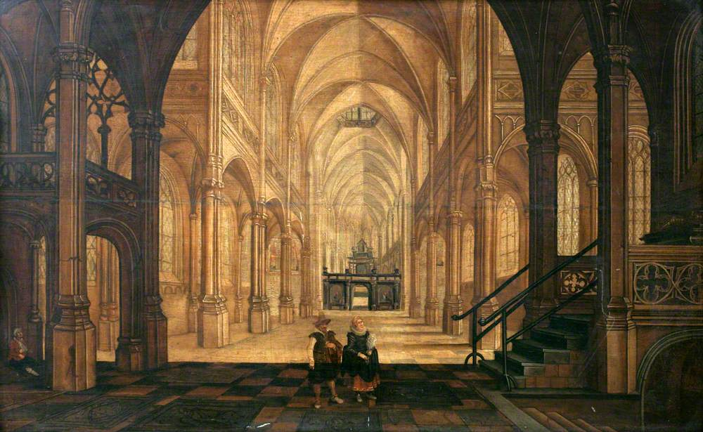 Interior of a Church Looking East