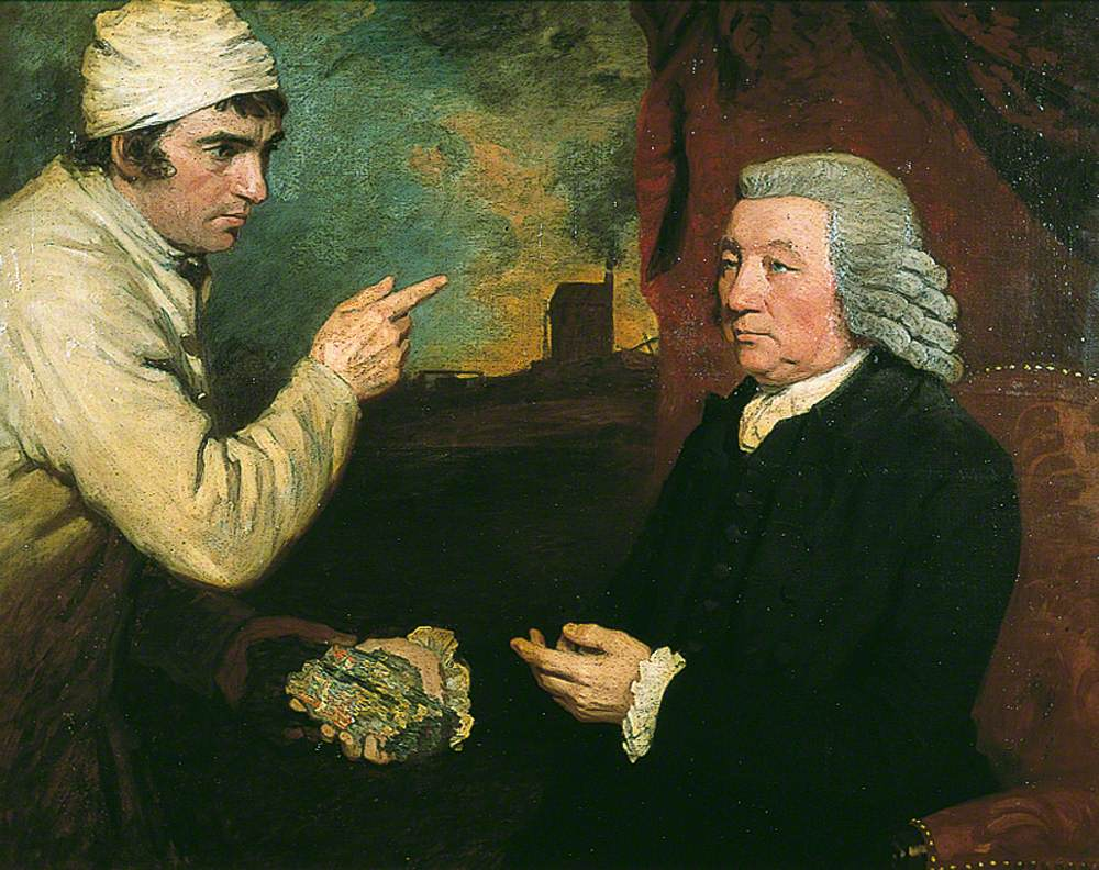 A Gentleman and a Miner (Captain Morcom and Thomas Daniell)