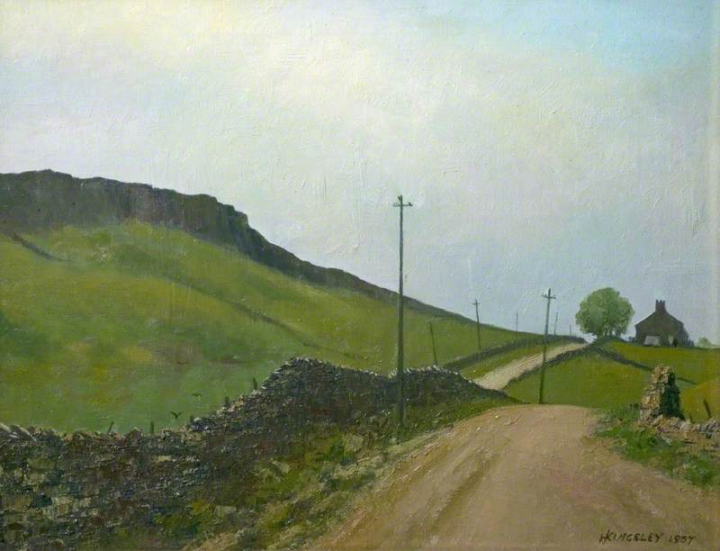 Road to Charlesworth, Derbyshire