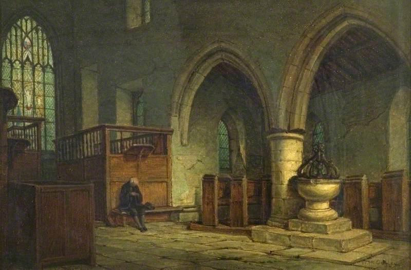 The Chapel, Haddon Hall, Derbyshire