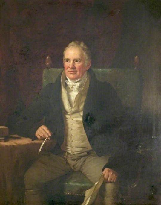 William Strutt (1756–1830), FRS