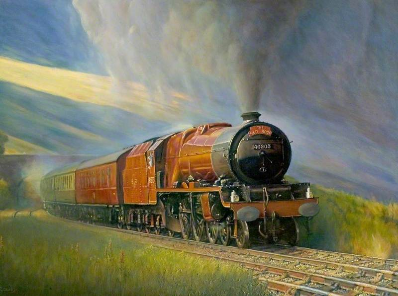 Princess Royal Class Steam Locomotive 46203 'Princess Margaret Rose'