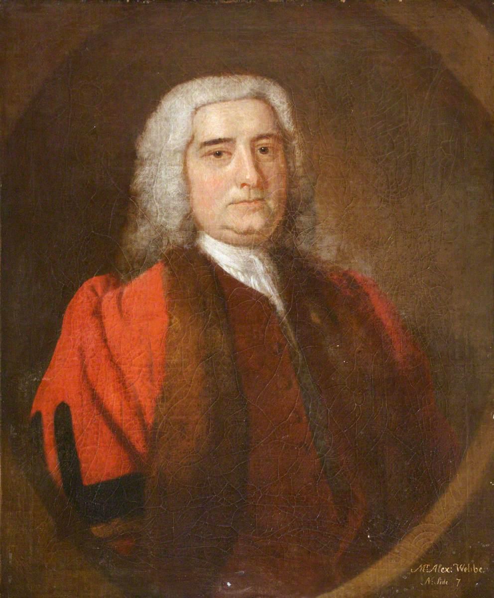 Alexander Webber, Mayor of Barnstaple (1737)