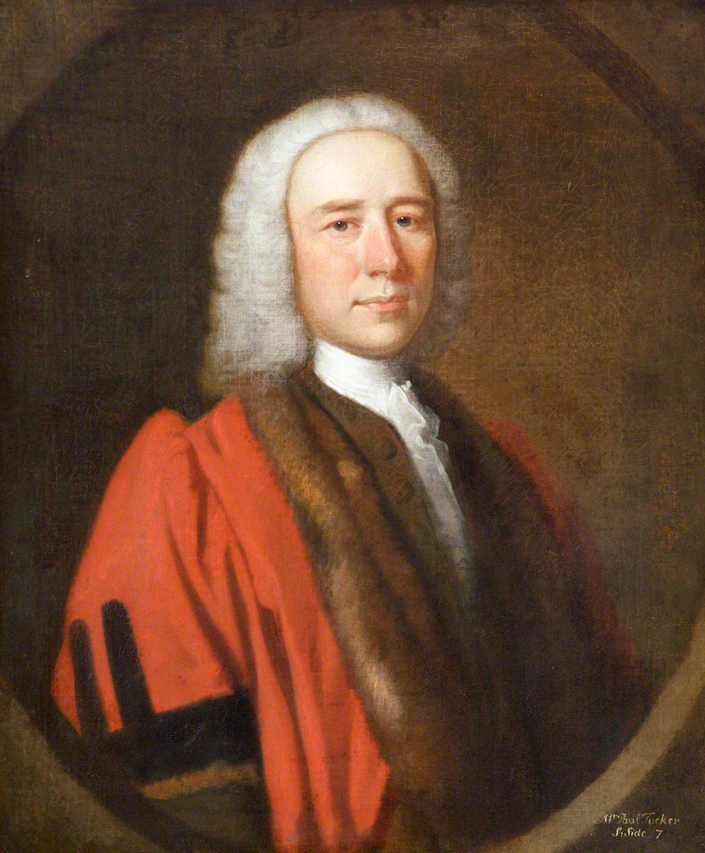Paul Tucker, Mayor of Barnstaple (1736)