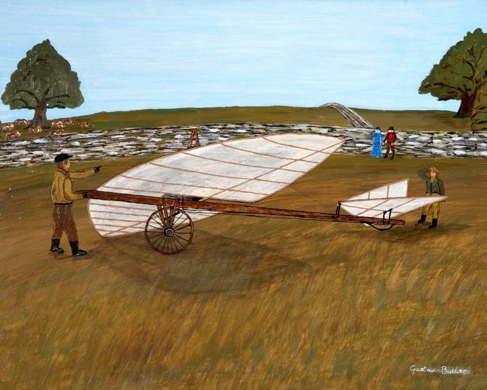 The 'Dittisham Flyer', Liwentaal's Aerostat in Fields