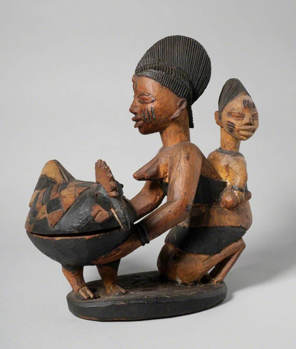 Yoruba Offering Bowl