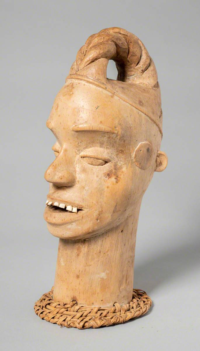 Efik Carved Head