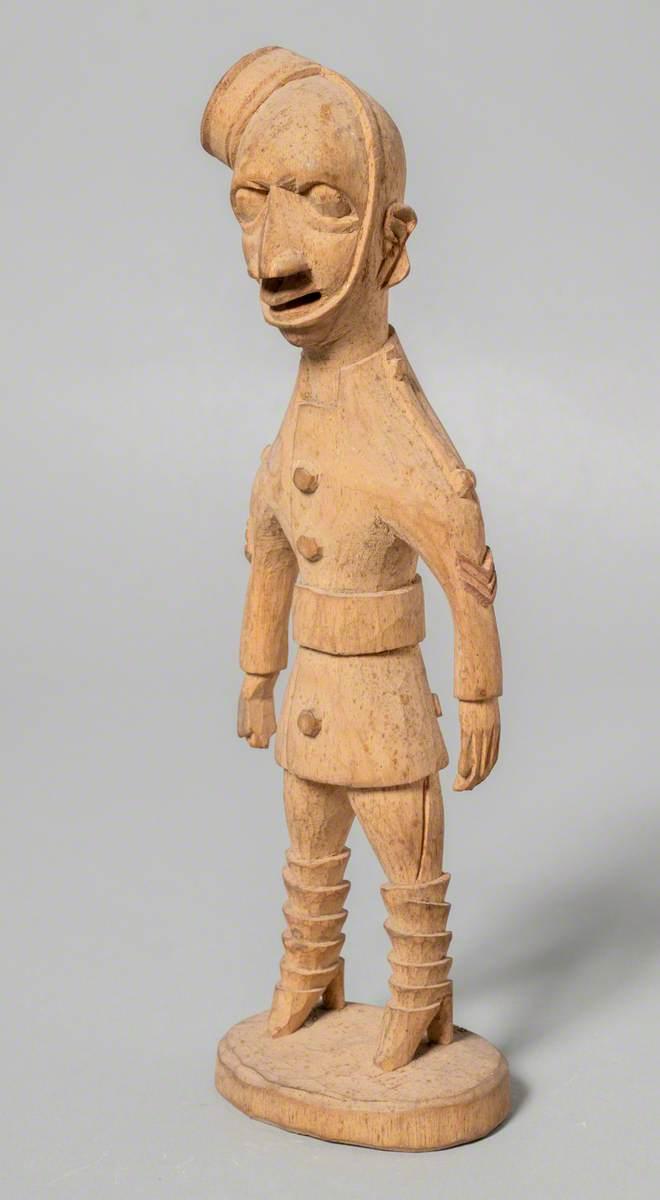 Figure of a European