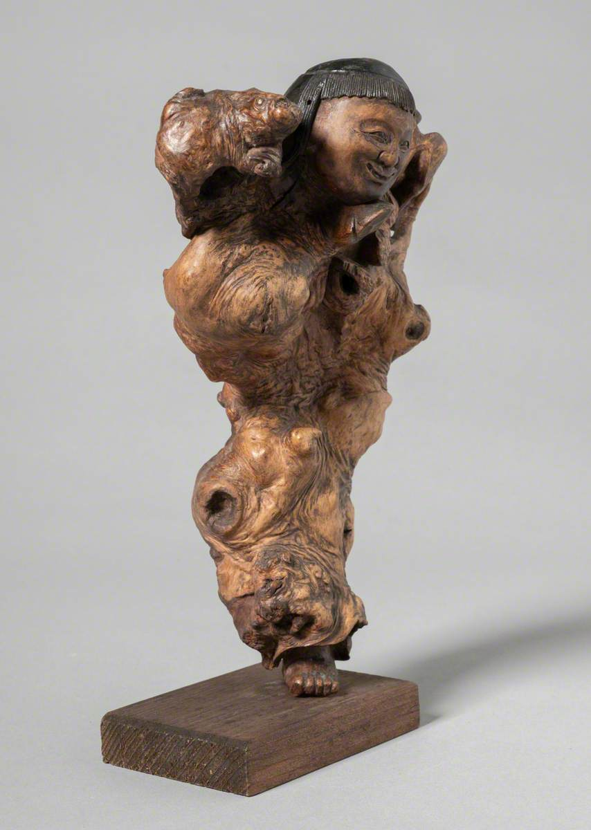 The Spirit of the Tree Root Carving
