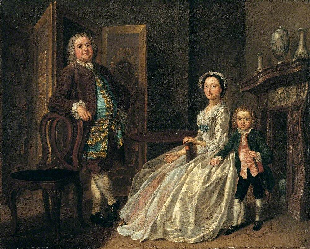 Grosvenor Bedford and His Family