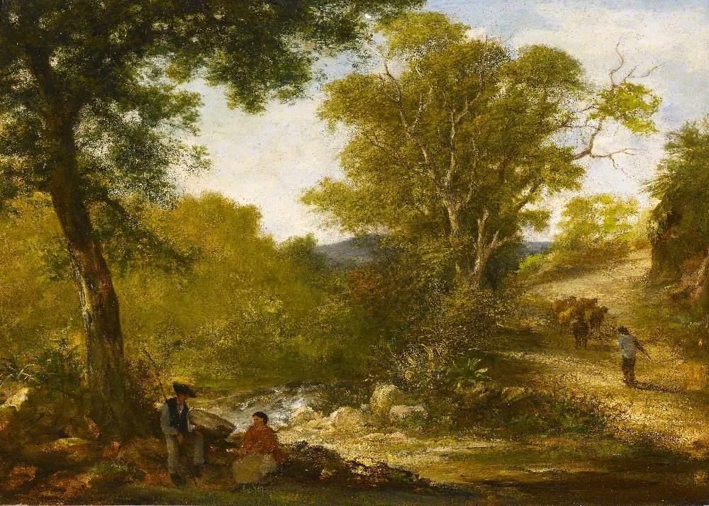 Landscape in Devon (?)