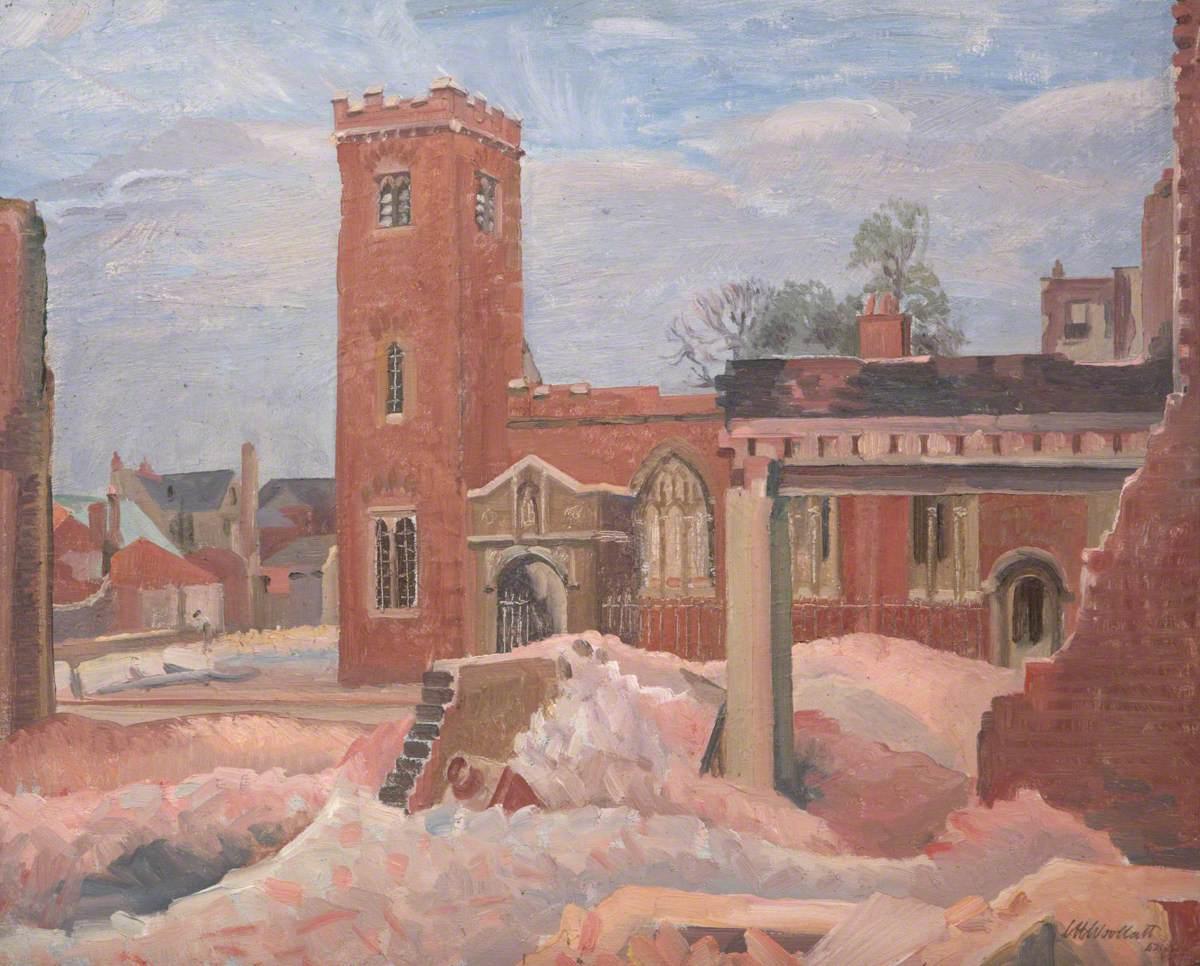 Church of St Lawrence, High Street, Exeter, Devon